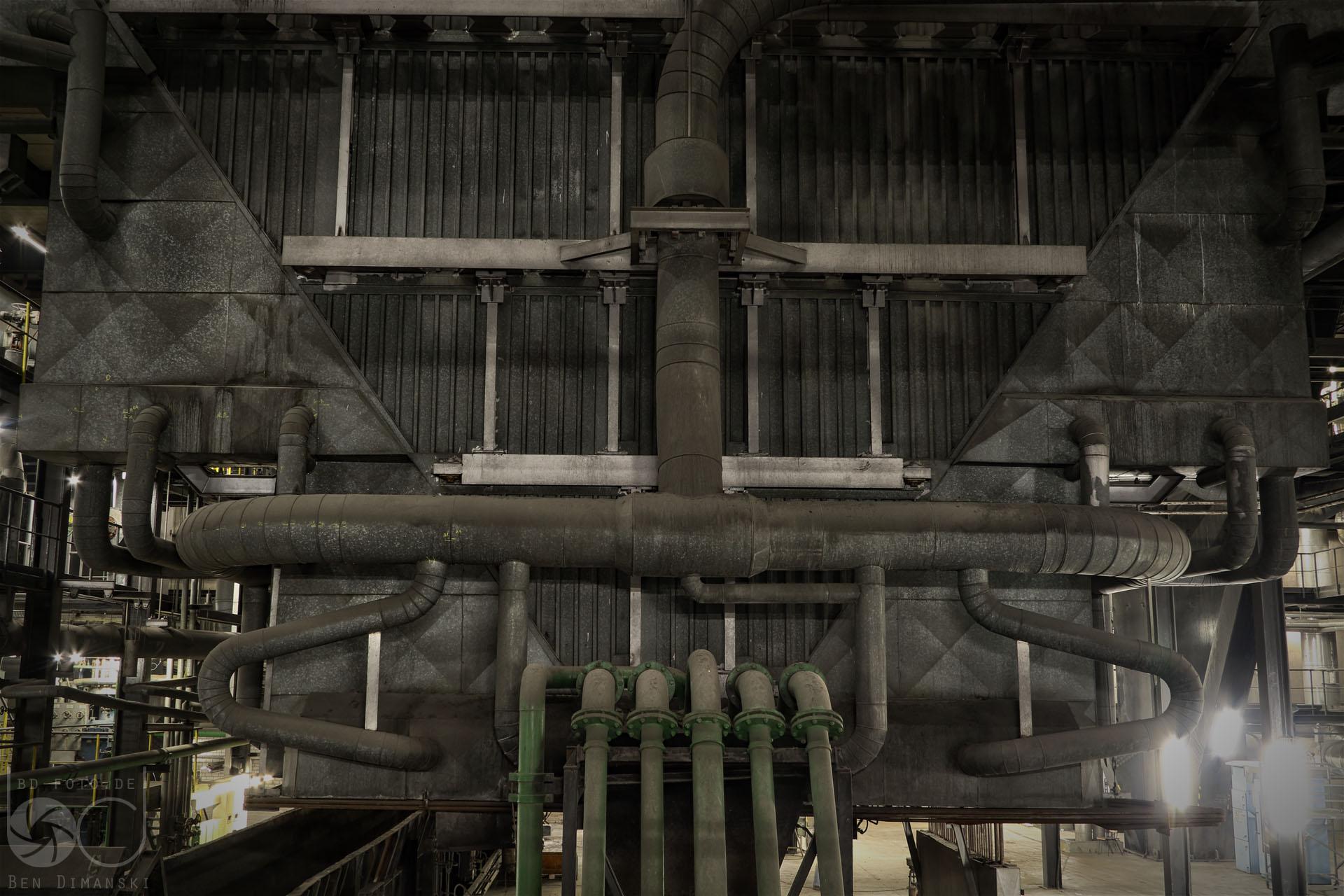 Kraftwerk Scholven: Zu Besuch in der Dampfkathedrale - bd-foto.de